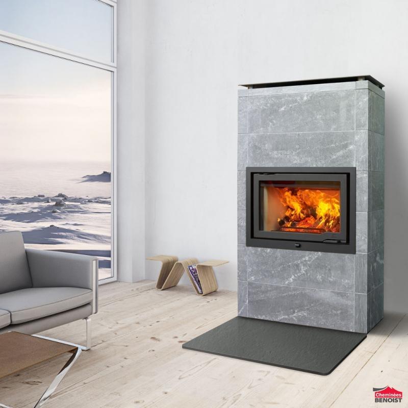 jotul po les de masse mixte en pierre ollaire et st aite. Black Bedroom Furniture Sets. Home Design Ideas